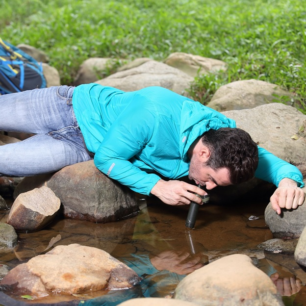 Portable Mini Outdoor Camping Water Filter Tool