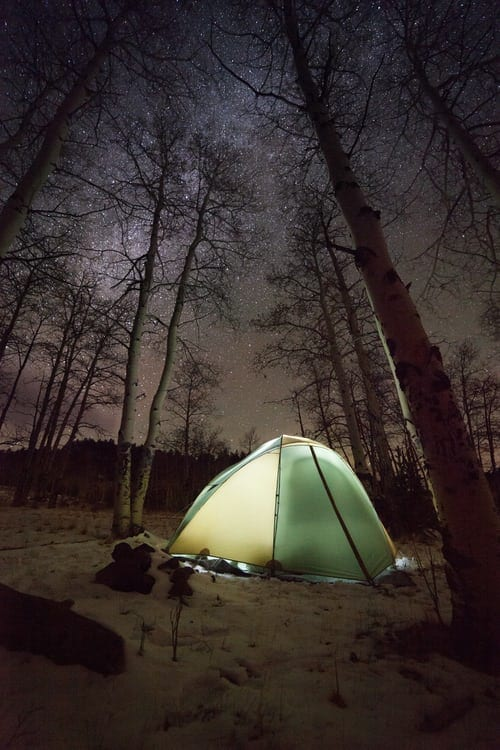 A Short History Of The Campsites